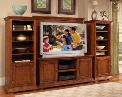 Centros de entretenimiento y muebles para la tv muebles for Muebles de tv de madera