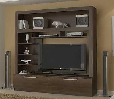 Centros de entretenimiento y muebles para la tv muebles for Mueble de entretenimiento para sala