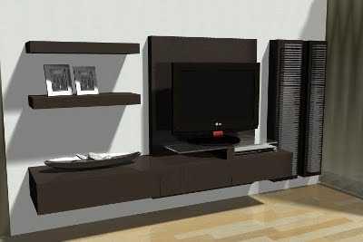 Centros de entretenimiento y muebles para la tv muebles for Muebles de sala de entretenimiento