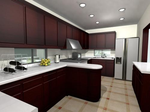 De qu color puedo pintar cada ambiente de mi casa - Cocinas con estilo moderno ...