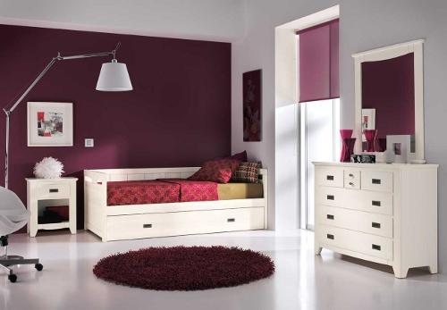 Colores para pintar una habitaci n juvenil dormitorio for Espejos habitacion juvenil