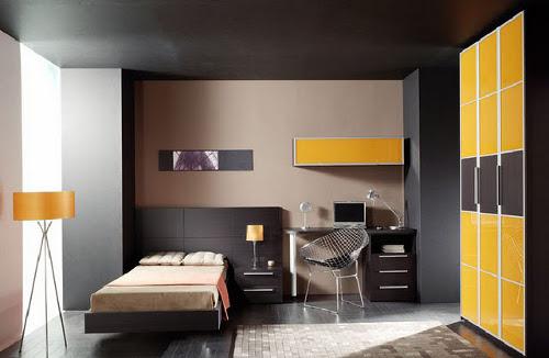 Colores para pintar una habitaci n juvenil dormitorio - Combinaciones de colores para pintar una habitacion ...