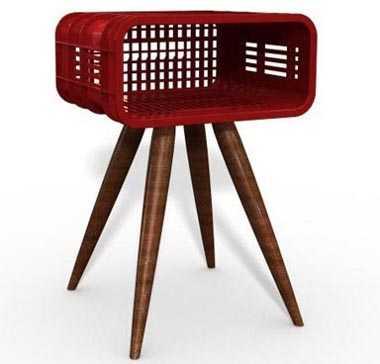 Originales ideas para la mesa de noche de tu habitaci n for Como hacer patas de madera para mesas