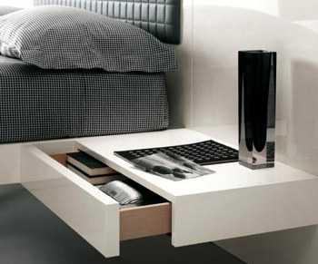 Originales ideas para la mesa de noche de tu habitaci n dormitorio decora ilumina - Mesillas originales ...