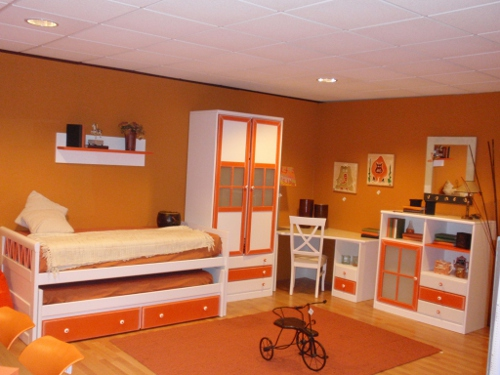 Colores para pintar una habitaci n juvenil dormitorio for Colores para pintar una habitacion