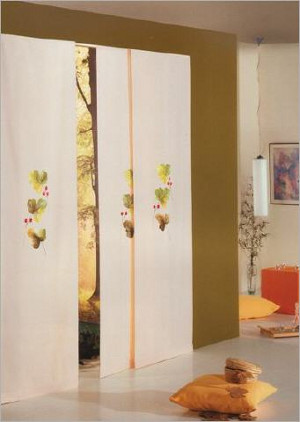 Visillos estores paneles japoneses y todo en cortinas for Cortinas para departamento