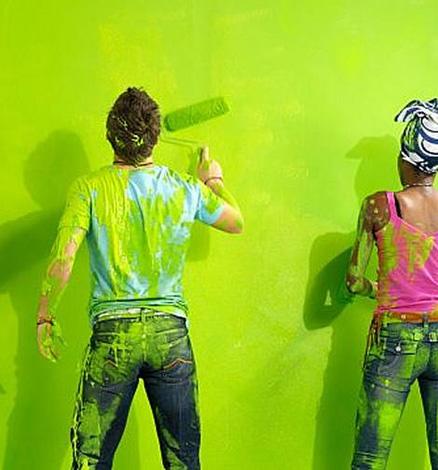 C mo pintar paredes como un profesional 10 consejos for Como puedo pintar mi casa