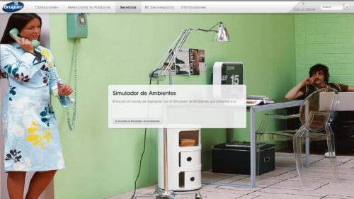 Bruguer nos presenta un completo simulador de ambientes - Simulador de colores para paredes ...