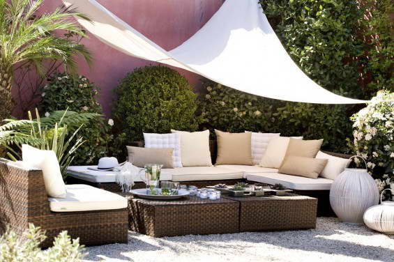 Un chill out en casa terraza decora ilumina - Muebles chill out ...
