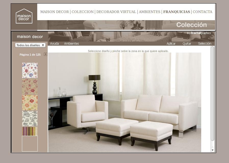 El nuevo decorador virtual de maison decor tip del dia for Decorador de interiores virtual