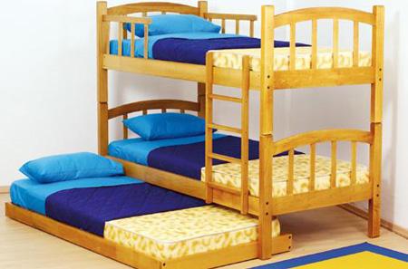 Camas nido para el dormitorio de los niños y adolescentes ...