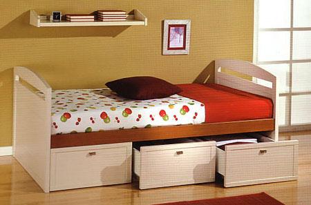 Camas nido para el dormitorio de los ni os y adolescentes dormitorio decora ilumina - Modelos de camas nido para ninos ...