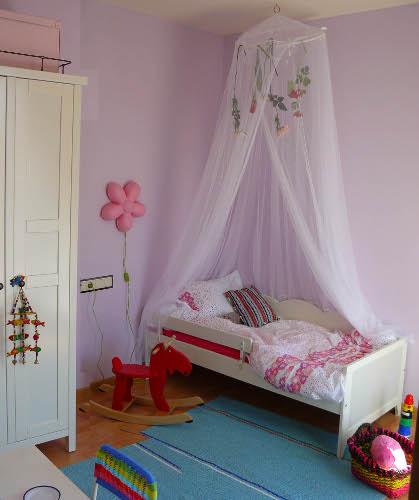 Decorando la habitaci n de una ni a dormitorio decora for Como decorar el cuarto de mi hija