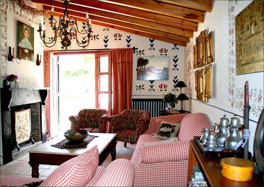 C mo decorar tu casa al estilo country tendencias for Casa de estilo campestre