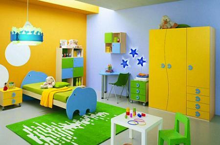 Consejos para pintar la habitaci n infantil dormitorio decora ilumina - Pintar dormitorio infantil ...