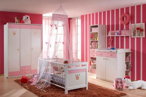 Consejos para pintar la habitaci n infantil dormitorio for Como decorar habitacion bebe nina