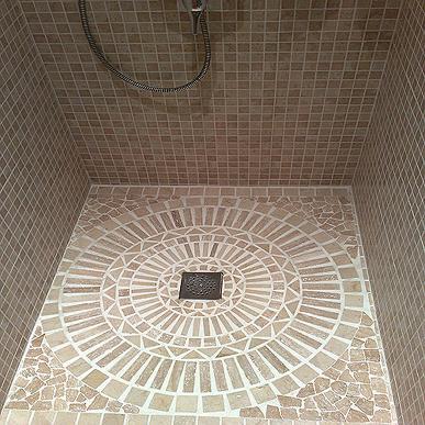 C mo hacer una ducha de obra ba o decora ilumina - Platos de duchas de obra ...