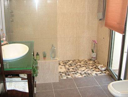 C mo hacer una ducha de obra ba o decora ilumina - Quitar banera y poner plato de ducha ...