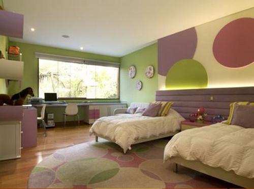 Habitaciones juveniles dormitorio decora ilumina for Decoracion de cuartos para 2 ninas