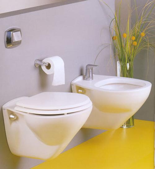 Inodoro Baño Pequeno:Decoración moderna para baños pequeños