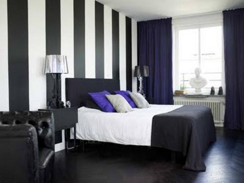 Habitaci n juvenil decorada en colores vivos - Pintar paredes blancas ...