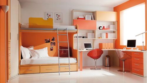 Habitaciones juveniles dormitorio decora ilumina - El mueble habitaciones infantiles ...