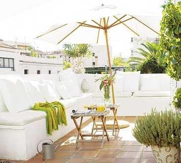 Muebles de obra o concreto para tu terraza, ¡resistentes y durables ...