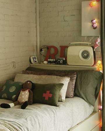 C mo decorar una pared de ladrillos paredes decora ilumina - Deco kamer fotos ...