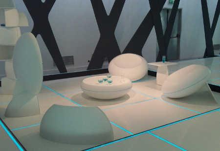 Resultado de imagen de decoraciones futuristas