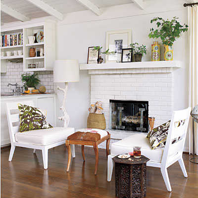 blanco con toques de color por tratarse de un color fcil de combinar es la primera opcin de muchos diseadores y arquitectos