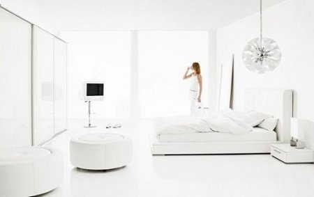 El color blanco la nueva tendencia en decoraci n de for Pisos blancos minimalistas