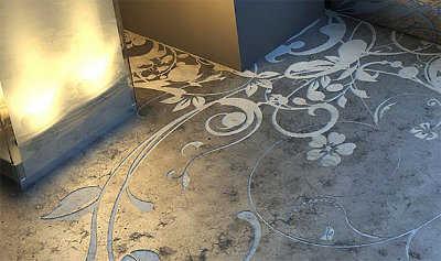 Pintura para pisos de cemento alisado pisos decora ilumina - Pintura para pintar piso de cemento ...