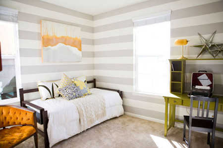 Home Decorations Painting A Room In 2 Colors