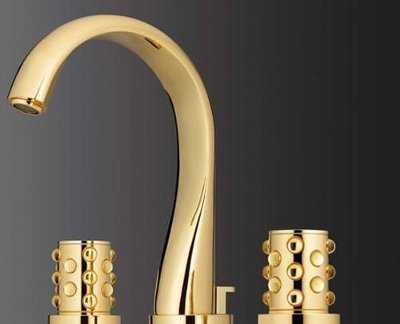 Grifer a de ba o moderna para tu casa ba o decora ilumina for Griferia dorada
