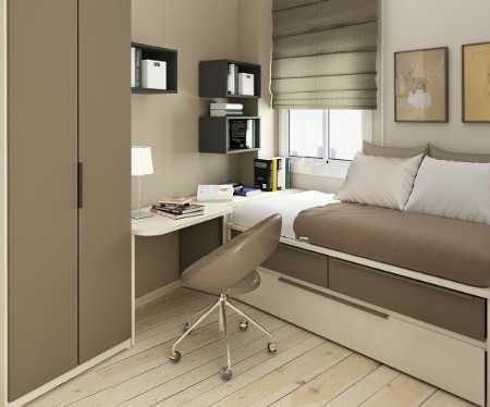 Muebles para habitaciones peque as mujer muebles para - Muebles para habitaciones pequenas ...