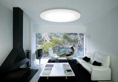 Escoge tu l mpara para techos bajos iluminacion decora for Wohnzimmerleuchte decke