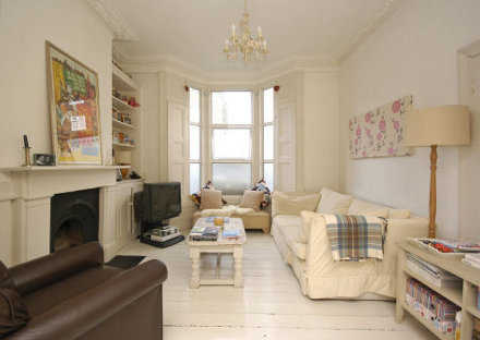 Escoge tu l mpara para techos bajos iluminacion decora - Pintura blanco roto ...