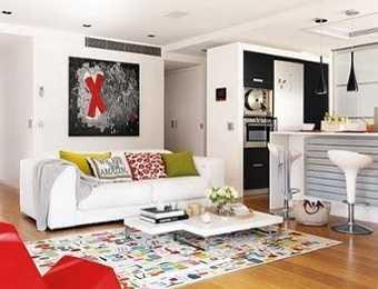 Qu muebles est n de moda para departamentos peque os for Modelos de departamentos pequenos
