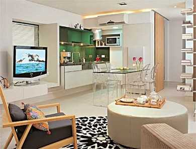 Qu muebles est n de moda para departamentos peque os for Distribucion apartamentos pequenos