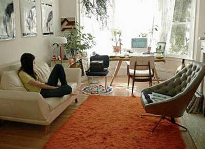 Qu muebles est n de moda para departamentos peque os Salas en l para espacios pequenos