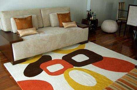 C mo renovar mi sala 7 tips sala decora ilumina - Alfombras para casa ...