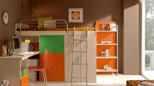 Muebles de melamina perfectos para tu dormitorio for Como hacer muebles en melamina