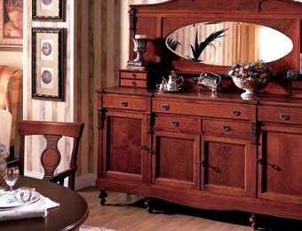 Moda retro muebles coloniales para tu sala y comedor for Muebles de sala amazon