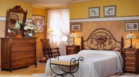C modas de madera r sticas y perfectas para tu habitaci n - Como pintar una casa rustica ...