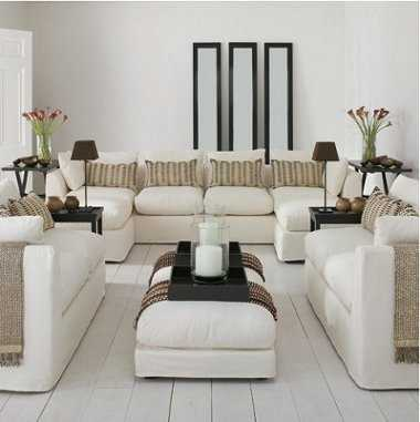 Muebles de cuero para tu sala todo sobre modelos y - Alfombras comedor amazon ...