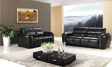 Muebles de cuero para tu sala, ¡todo sobre modelos y colores ...