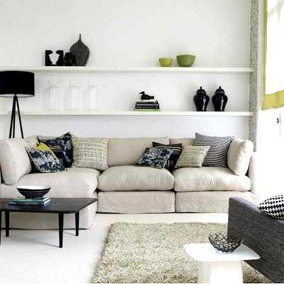 c mo decorar una sala peque a sala decora ilumina. Black Bedroom Furniture Sets. Home Design Ideas
