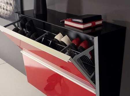 Zapateras escoge una seg n tu estilo muebles decora for Zapateras modernas fotos