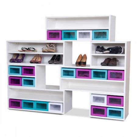 Zapateras escoge una seg n tu estilo muebles decora - Muebles de zapatos ...