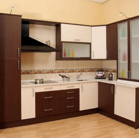 Muebles de melamina para tu cocina cocina decora ilumina for Modelos de anaqueles de cocina